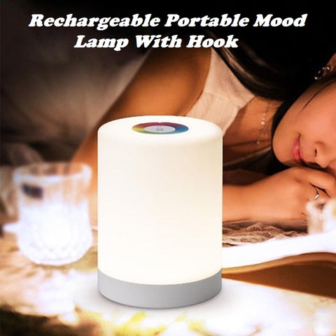 Rechargeable Portable Mood Lamp With Hook