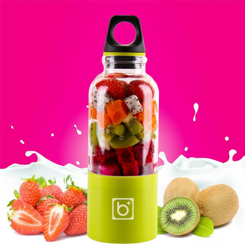 EZ Smoothie™ - 500ml USB Bottle Blender - MaxStore4U