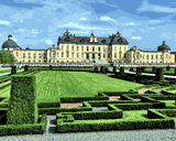 European Castles (57) - Drottningholm Castle, Sweden - Van-Go Paint-By-Number Kit