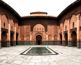 Amazing Places (58) - Ben Youssef Madrasa, Marrakesh, Morocco - Van-Go Paint-By-Number Kit