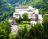 European Castles (71) - Hohenwerfen Castle, Austria - Van-Go Paint-By-Number Kit