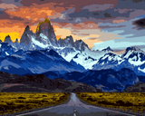 Amazing Places (781) - Patagonia, Argentina and Chile - Van-Go Paint-By-Number Kit