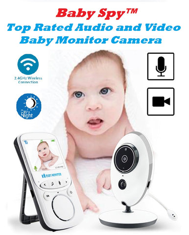 Baby Spy™ - Top Rated Audio and Video Baby Monitor Camera - MaxStore4U