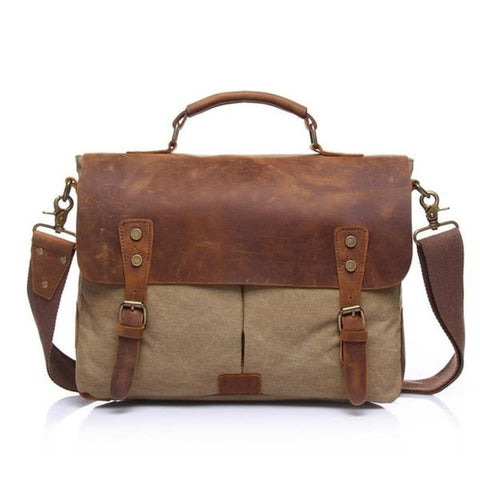 Vintage Wilderness Messenger Bag