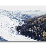 Snowy Mountains - Van-Go Paint-By-Number Kit