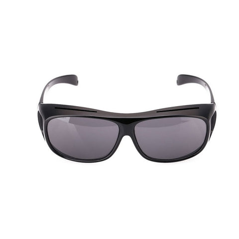 Night Vision Anti-Glare Wraparound Glasses for Bright & Safe Night Time Driving