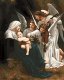Song of the Angels by William Adolphe Bouguereau - Van-Go Paint-By-Number Kit
