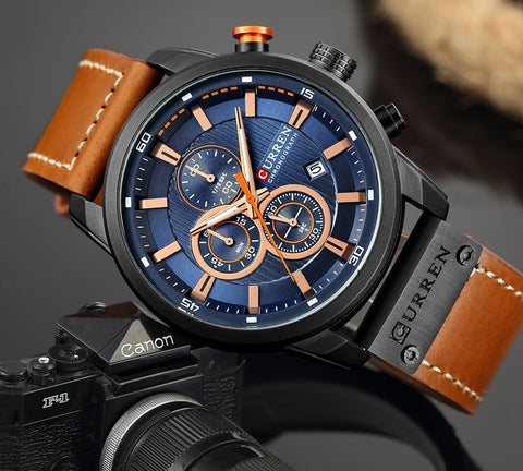 The Climber Watches Series - CURREN Top Luxury Men Watches - MaxStore4U