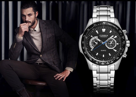 The Military Watches Series - CURREN Top Luxury Men Watches - MaxStore4U