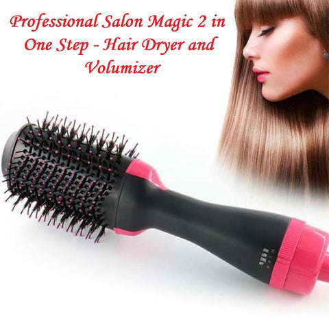 Professional Salon Magic 2 in One Step - Hair Dryer and Volumizer