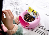 Lazy Bowl™ - Donuts Shape Snacks Storage Bowl with Smartphone Holder - MaxStore4U