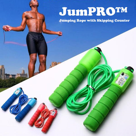 JumPRO™ - Jumping Rope with Skipping Counter