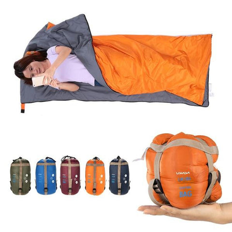 Ultra Lightweight & Portable Envelope Sleeping Bag