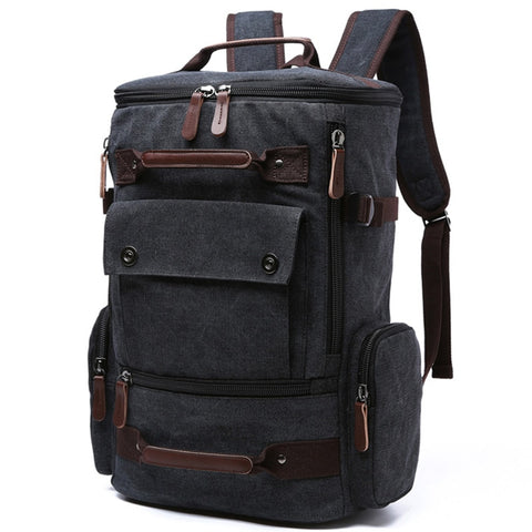 Ngorongoro - Vintage Waterproof Canvas Laptop Backpack