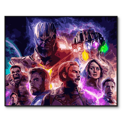 Avengers Endgame Collection - Van-Go Paint-By-Number Kit (N27) - MaxStore4U