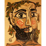 A bearded man by Pablo Picasso (1) - Van-Go Paint-By-Number Kit