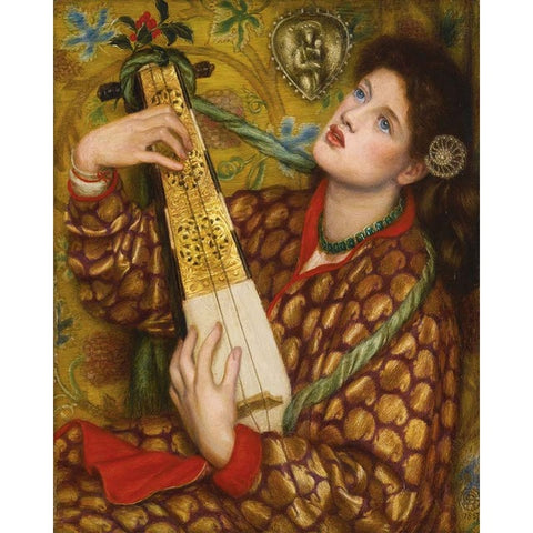 A Christmas Carol by Dante Gabriel Rossetti - Van-Go Paint-By-Number Kit