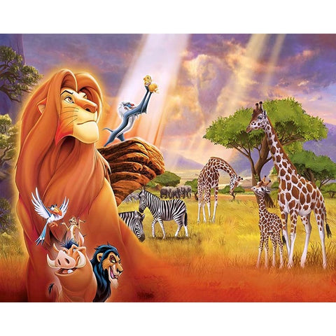 The Lion King and Friends - Van-Go Paint-By-Number Kit