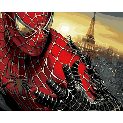 Spider-Man (1) - Van-Go Paint-By-Number Kit