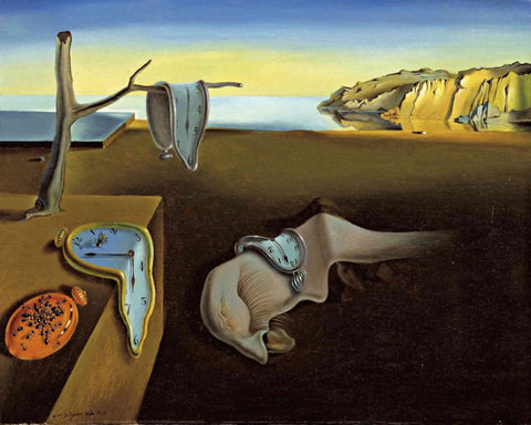 The persistence of memory by Salvador Dali - Van-Go Paint-By-Number Kit