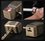 The Inferno Thor God Hammer Wire Lighter - No Gas, Wind&Water proof, Rechargeable - MaxStore4U