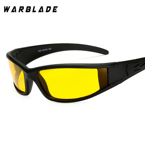 Night Vision Anti-Glare Sports Glasses for Bright & Safe Night Time Driving