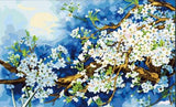 Plum Blossom - Van-Go Paint-By-Number Kit