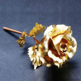 24K Gold Foil Rose With Box (Various Colors) - MaxStore4U