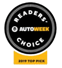 Readers Autoweek Choice- 2019 Top Pick