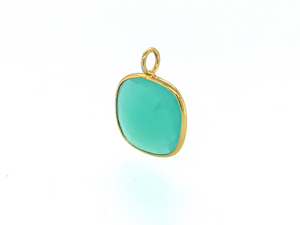 Load image into Gallery viewer, Aventurine Infinity | Gold Square