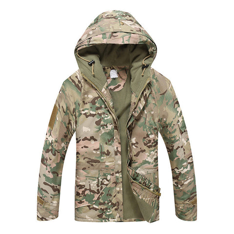 Military Camouflage Windproof Coat