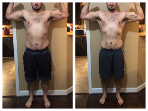 Tyler, before and after