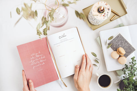 Ponderlily Planner helps you organise your days, and create a meaningful, intentional life.