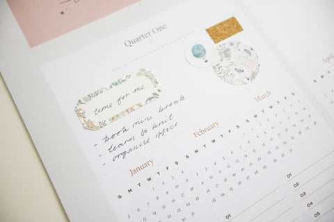 Picture of Ponderlily wall calendar