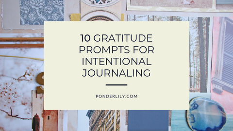 Image of 10 Intentional Journaling Prompts