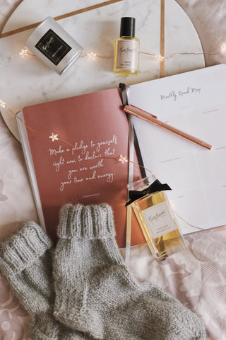 Ponderlily planner and perfume