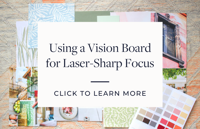 Link to blog post about Vision Boards