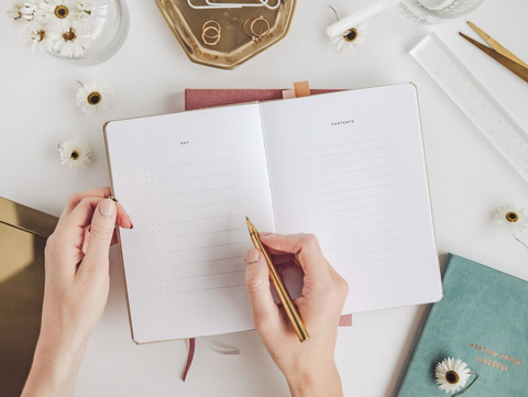 Ponderlily Planners have space for lists to organise work and life