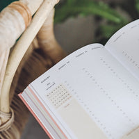 Ponderlily Weekly Planner 2021, Sage (Monday-Start)