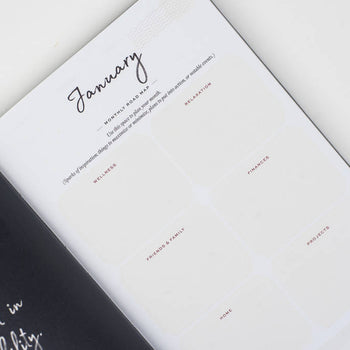 2021  Ponderlily planner monthly roadmap