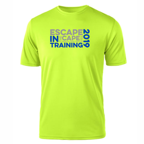 2019 Escape the Cape MenÕs In Training Tee