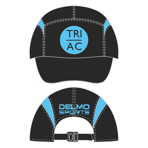 DelMoSports Atlantic City: 'Event Logo' Tech Cap - Black/Hi Viz Blue - by Boco