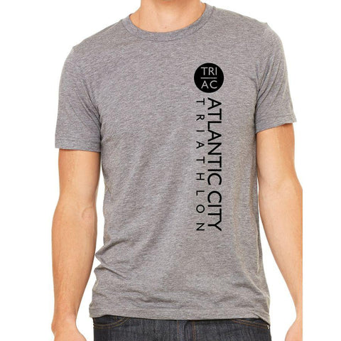 Men's SS Tri-Blend Tee - Grey