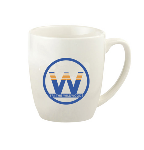 DelMoSports Wildwoods: 'Event Logo' 18 oz. Ceramic Mug - Black - by Gordon Sinclair