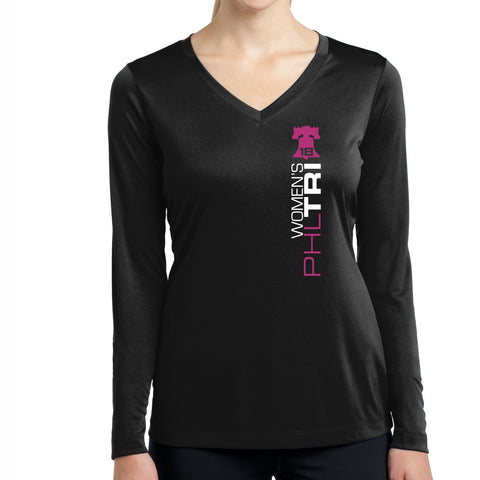 Women's Philadelphia Tri,Long Sleeve,Women's