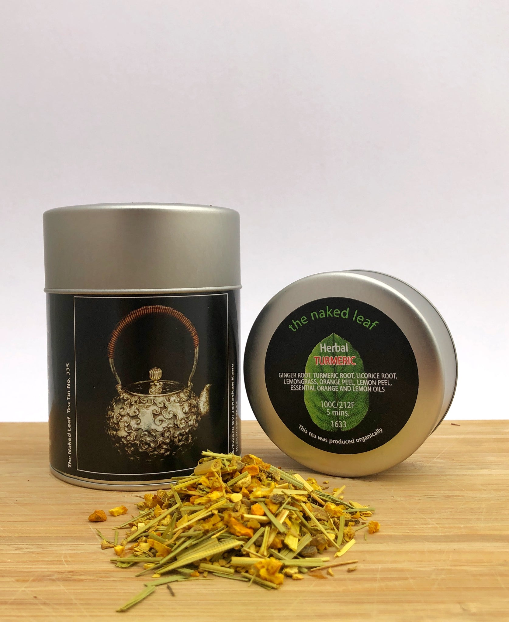 Turmeric Spice Loose Leaf Tea