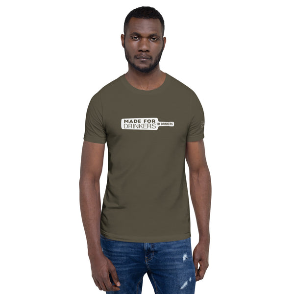 For Drinkers, By Drinkers Unisex T-Shirt (darker colours)
