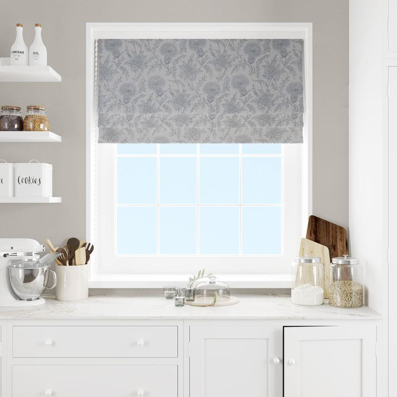 Carlina Dusk Made To Measure Roman Blind -  - Ideal Textiles