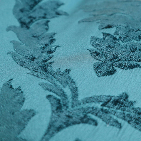 Isadore Teal Made To Measure Curtains -  - Ideal Textiles