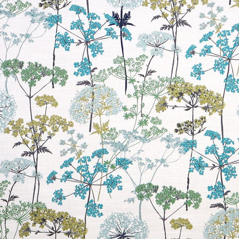 Hedgerow Pistachio Made To Measure Curtains -  - Ideal Textiles